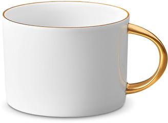 L'OBJET Corde Tea Cup, White/Gold