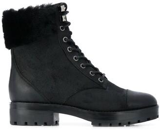 MICHAEL Michael Kors Faux-Fur Trim Boots