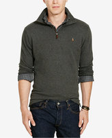 Polo Ralph Lauren Big & Tall Men's Estate Rib Half-Zip Sweater