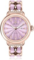 Glam Rock Women's GR77026 Bal Harbour pink and steel Stainless steel Band Watch.