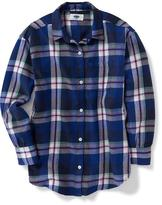Old Navy Boyfriend Button-Down Tunic for Girls