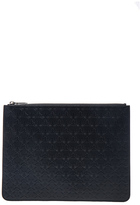 Givenchy Embossed Large Zip Pouch