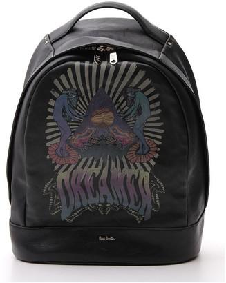 Paul Smith Dreamer Logo Print Backpack