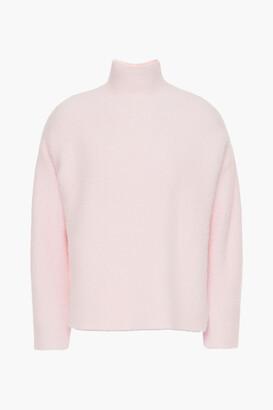 Mason by Michelle Mason Brushed Ribbed-knit Turtleneck Sweater