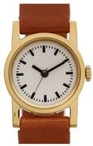 Steven Alan Women's Round Leather Strap Watch, 20Mm