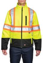 Dickies Men's Hi-Vis Soft Shell Jacket