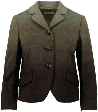 RED Valentino Green Wool Jackets