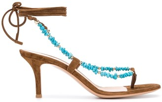 Gianvito Rossi Ric lace-up sandals