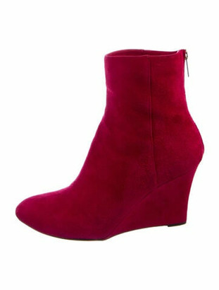 Jimmy Choo Suede Boots Pink