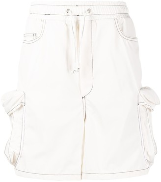 Sunnei Loose Cargo Shorts