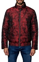 Jared Lang Men's Chicago Camo Down Puffer Jacket