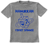 Urban Smalls Heather Gray 'Hanukkah Fidget Spinner' Tee - Toddler & Boys