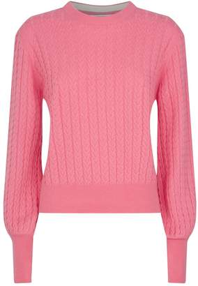 Chinti and Parker Cable-Knit Cashmere Sweater