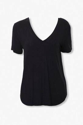 Forever 21 Basic Drop-Sleeve Tee