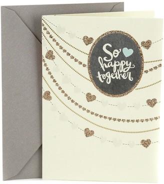 "Hallmark Wedding ""Strings of Hearts"" Greeting Card"