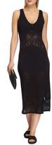 Jets Sleeveless Long Lace Midi Dress