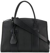 Miu Miu leather tag tote bag