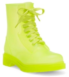 Jessica Simpson Rikie Translucent Rain Boots Women's Shoes