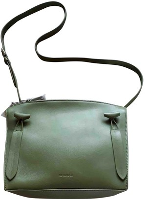 Jil Sander Green Leather Handbags