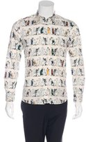 Paul & Joe People Print Shirt