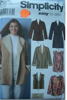 Simplicity easy-to-sew Misses Coat, Jackets, and Vests with Length Variations, Pattern 5306, size BB L, XL