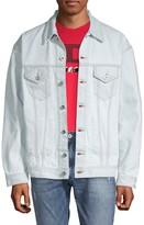 Diesel Spread Collar Denim Jacket