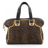 Fendi Black Leather Handbag