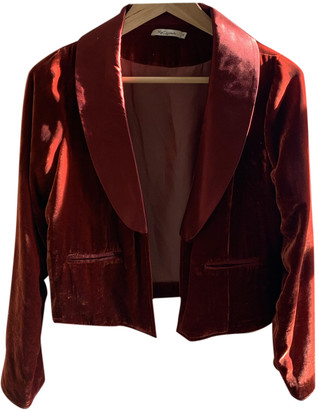 Mes Demoiselles ... Red Velvet Jackets