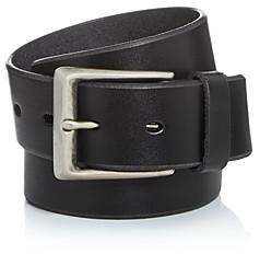 John Varvatos Men's Bridle Leather Belt