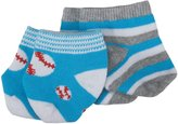 Country Kids Baseball Striped (Baby)-Assorted-0-6 Months