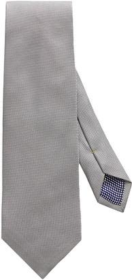 Eton Men's Textured Solid Silk Tie