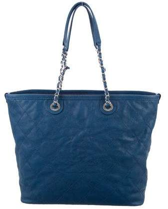 Chanel Quilted Small Daily Shopping Tote