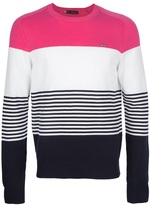 DSquared Dsquared2 block stripe sweater