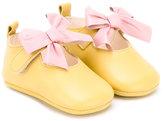 Pépé Heritage Poussin bow shoes - kids - Calf Leather/Leather - 18