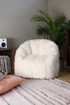 Urban Outfitters Maggie Faux Fur Shag Chair