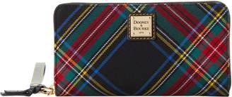 Dooney & Bourke Blakely Tartan Large Zip Around Wristlet