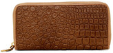 Liebeskind Berlin Sally 2D Reptile Embossed Calf Hair & Leather Continental Wallet