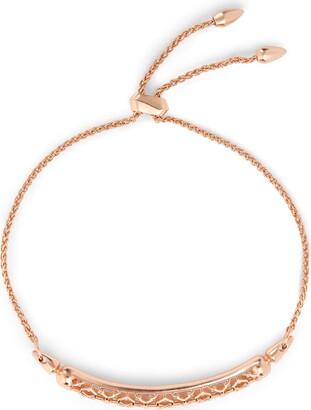 Kendra Scott Gilly Link Bracelet in Filigree Rhodium-Plated