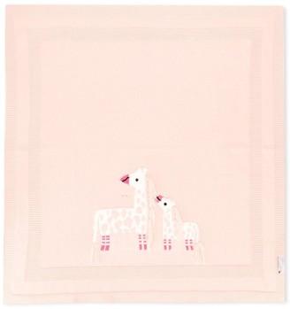 Stella McCartney Knitted Giraffe Blanket