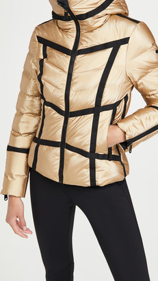 Goldbergh Mirror Puffer Coat