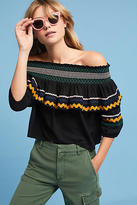 Red Carter Hanalei Off-The-Shoulder Top