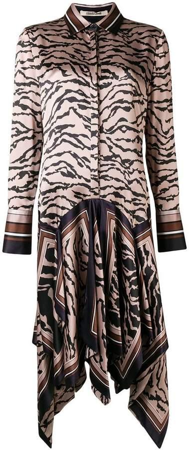 Roberto Cavalli owl foulard dress