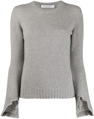 Philosophy di Lorenzo Serafini Glittered Crew Neck Jumper