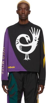 Reebok by Pyer Moss Black Collection 3 Crewneck Long Sleeve T-Shirt