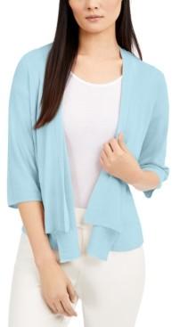 Alfani Draped Open-Front Cardigan, Created for Macy's