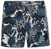 Onia Charles Mid-Length Printed Swim Shorts