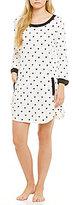 Kate Spade Heart-Print Jersey Sleepshirt