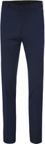 Oxford Hopkins Wool Suit Trousers Blue X