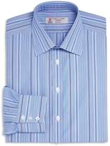 Turnbull & Asser Multi Stripes Classic Fit Dress Shirt