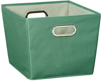 Honey-Can-Do Green Medium Storage Bin